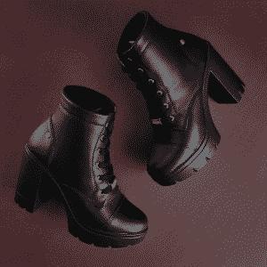 Ankle boot plataforma
