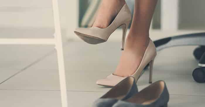calçados para trabalhar