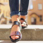 modelo de sandália