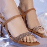 sandálias da Domidona
